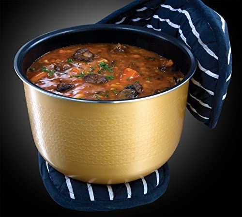 Russell Hobbs 21850-56 Multicooker Cook Home, 11 programmi di cottura, Accessori da cucina, Coperchio anticondensa, 5.0l, 900 Watt, Acciaio inossidabile / Nero