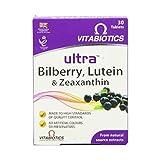 (10 PACK) - Vitabiotics Ultra Lutein Bilberry & Zeaxanthin Tablets | 30s | 10 PACK - SUPER SAVER - SAVE MONEY