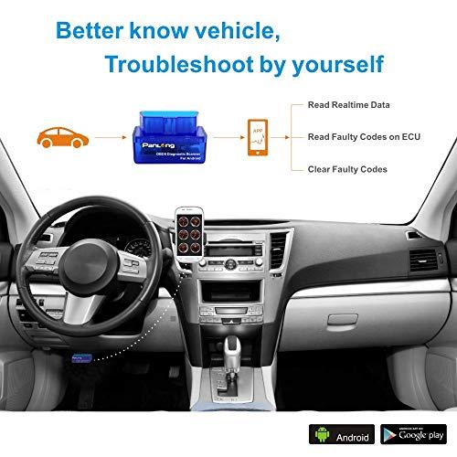 Panlong Bluetooth OBD2 OBDII Car Diagnostic Scanner Check