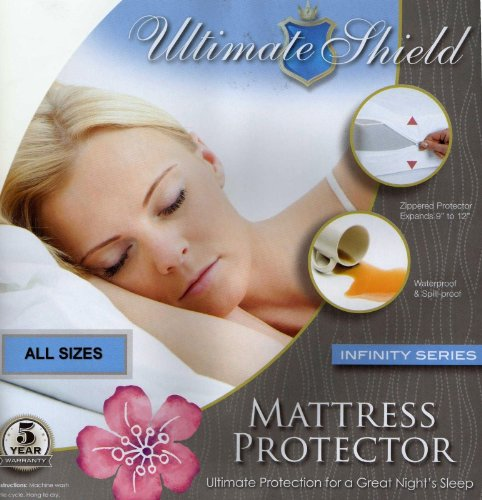 Infinity Series Accessories - Ultimate Shield Mattress Protector - Infinity Series up to 12