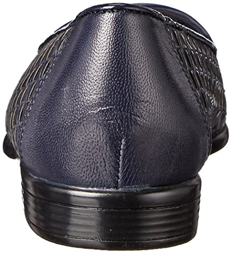 Mocasín Liz Patent navy Navy Talla Piel Trotters Mujeres Leather aRwxHH