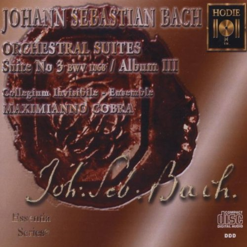 J. S. Bach - Orchestral Suite No. 3 in D Major, BWV 1068