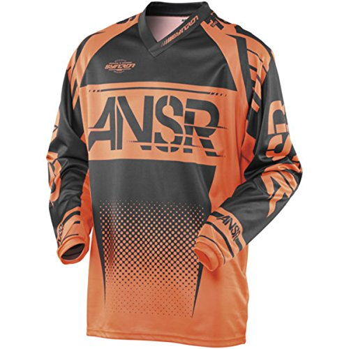 Answer Racing A17.5 Syncron Men's Off-Road Motorcycle Jerseys - Orange/Black/Large