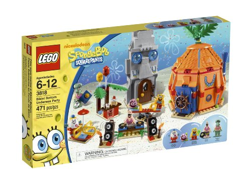 (LEGO SpongeBob Bikini Bottom Undersea Party 3818)