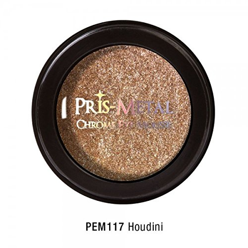 J. Cat Pris-Metal Chrome Eye Mousse Eye Shadow Creamy 18 Colors Avilable Shimmer (PEM117 Houdini)