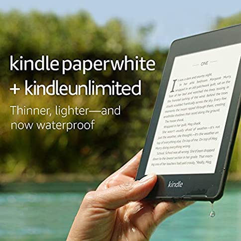 Kindle Paperwhite – Now Waterproof with 2x the Storage – Includes Special Offers + Kindle Unlimited (with auto-renewal) - 51gmjyhKtdL - Kindle Paperwhite – Now Waterproof with 2x the Storage – Includes Special Offers + Kindle Unlimited (with auto-renewal)