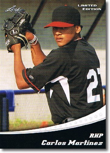 2011 Leaf Limited Edition Prospects Baseball Card #10 Carlos Martinez - St. Louis Cardinals (Rookie / Prospect)(Baseball Trading - Prospect St