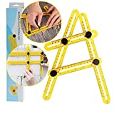 Angle-izer template tool, DIY, Tiling, Flooring and Cutting Stones, TOYAMI angle finder, Measuring Angles and Shapes