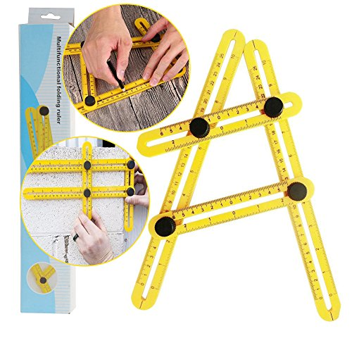 Multi-Angle Measurement Tool, Tiling, Flooring and Cutting Stones, Measuring Angles and Shapes