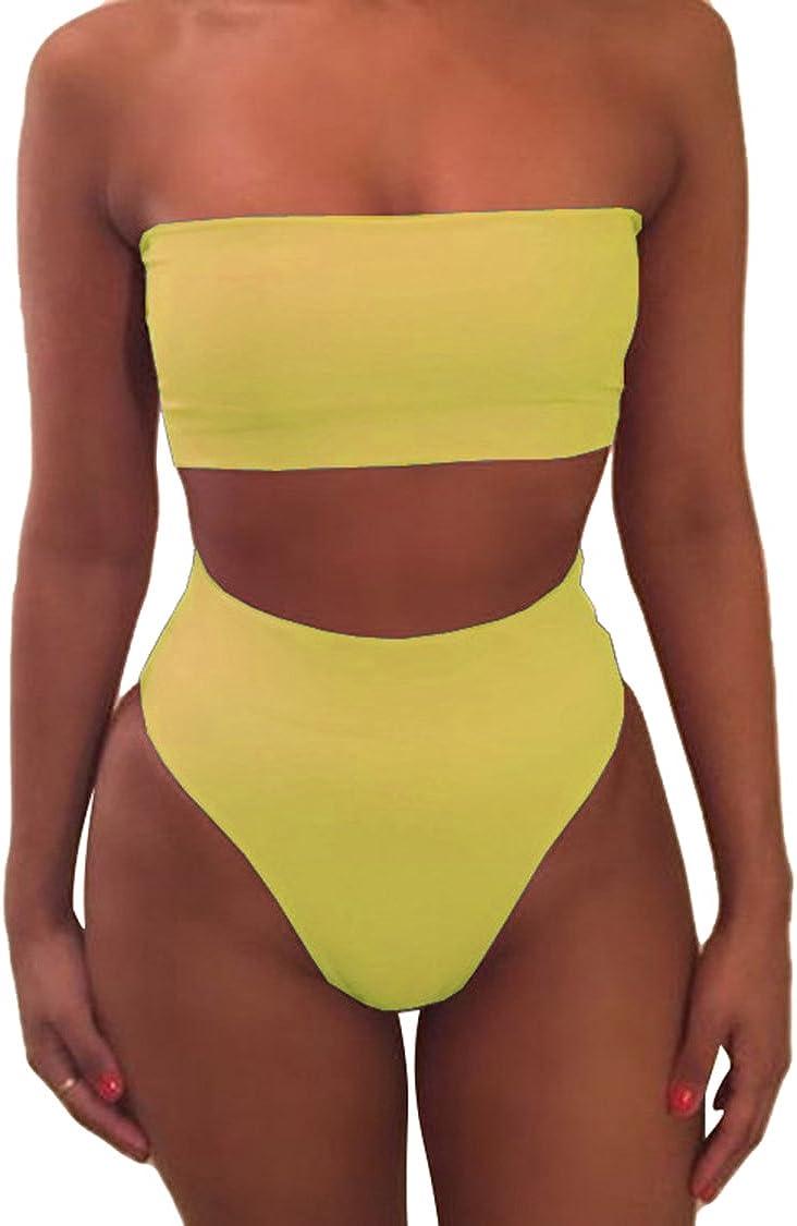 Viottiset a fascia Bikini da donna senza spalline