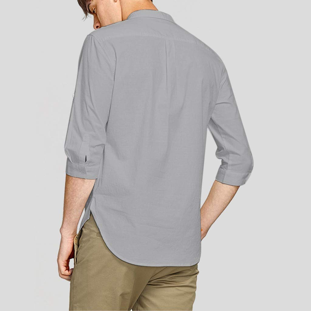 Linkay - Camiseta de Manga Corta para Hombre, de Manga Corta, para ...