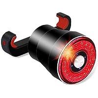 XIAOKOA Bicycle Taillights,Intelligent Brake Tail Lights,Waterproof LED Tail Light,USB Charging Tail Light,Intelligent…