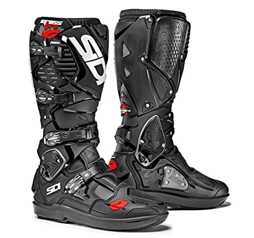 (Sidi Crossfire 3 SRS Off Road Motorcycle Boots Black US9.5/EU43 (More Size Options))