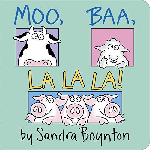Moo Baa La La La (Short Poems For Kids With Rhyming Words)