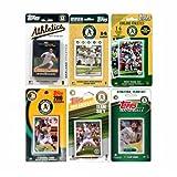 MLB Oakland Athletics 6 Different Licensed Trading Card Team Sets