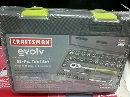 CRAFTSMAN 55 TOOL SET WITH CASE