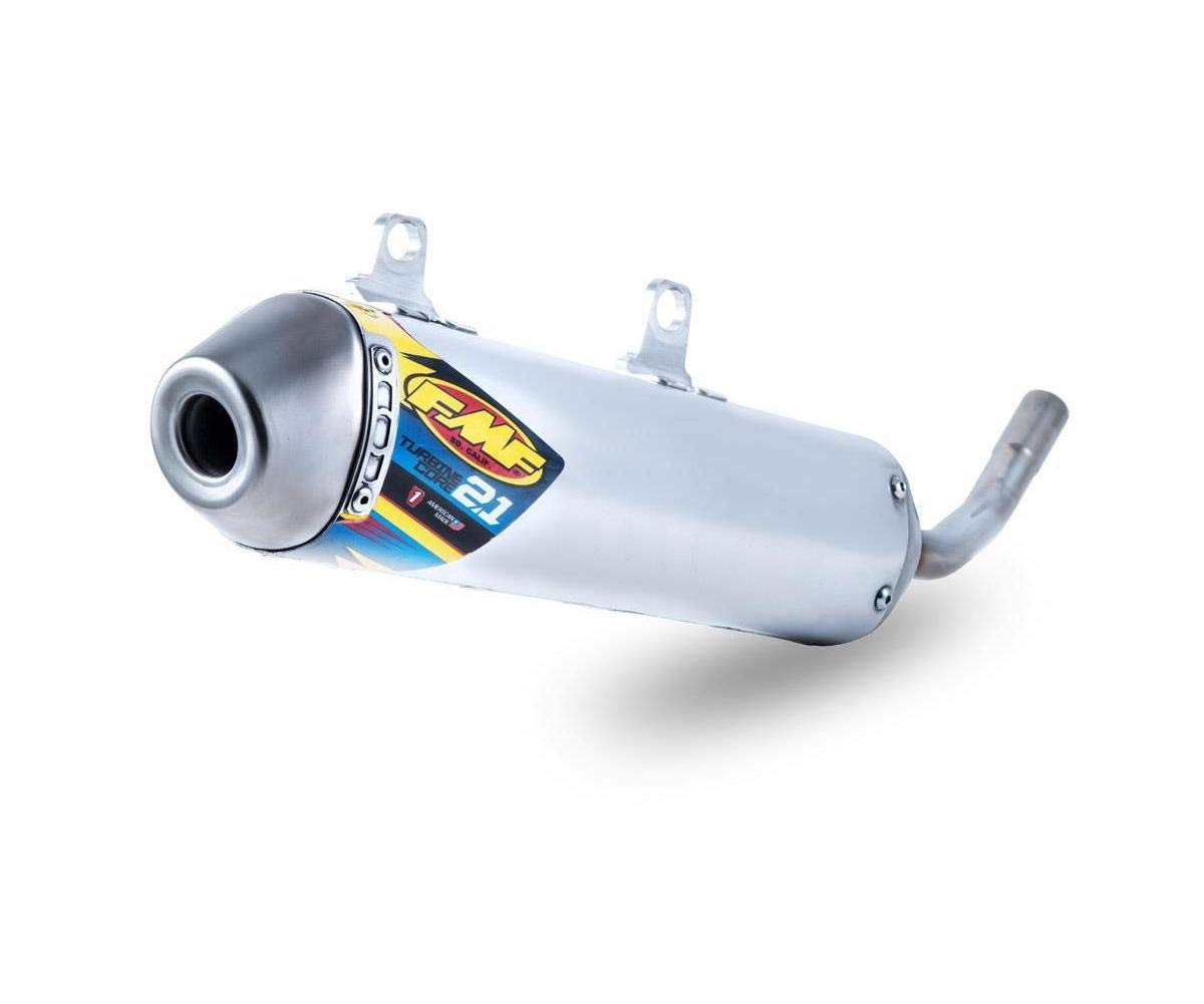 FMF Racing 025210 TurbineCore 2.1 Spark Arrestor Silencer
