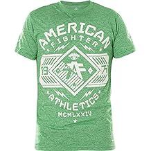 American Fighter Mens Hartwick Short Sleeve Tetris Mock Twist Tee