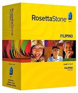 Rosetta Stone V3: Filipino (Tagalog) Level 1-3 Set with Audio Companion [OLD VERSION]