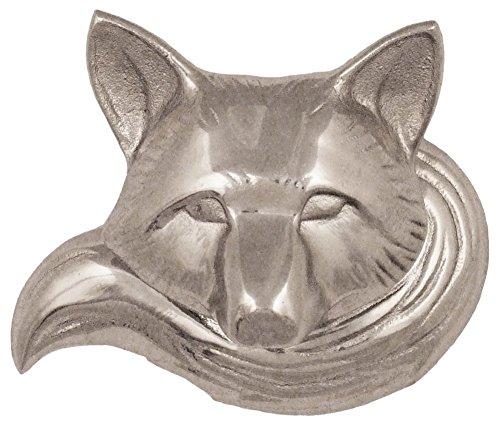 Michael Healy Designs MHR76 Fox Doorbell Ringer - Nickel Silver,