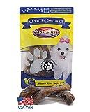 Shadow River 5 Pack Premium All Natural Lamb Shank Dog Bones