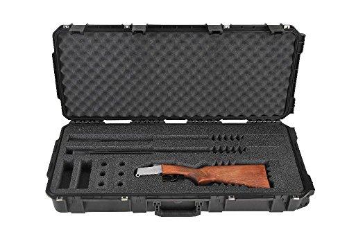 - SKB Injection-Molded Custom Breakdown Shotgun Case, Black