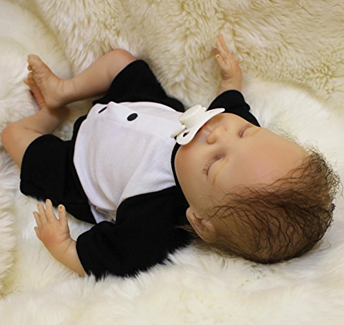 Wamdoll 18 Inch Rare Alive Sleepy Silicone Reborn Baby