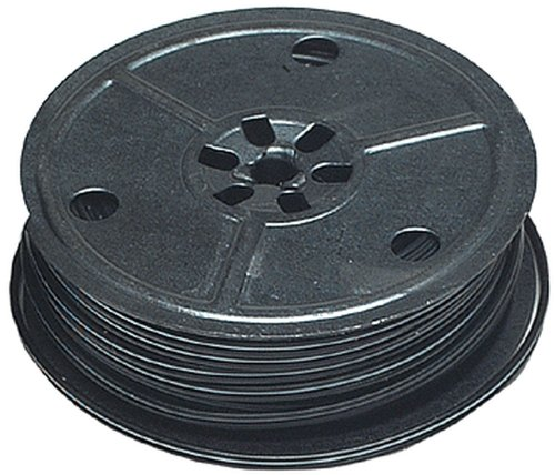 Miniatronics Corp 25' 2-Conductor Flat Mini Wire, Black, 28 Gauge