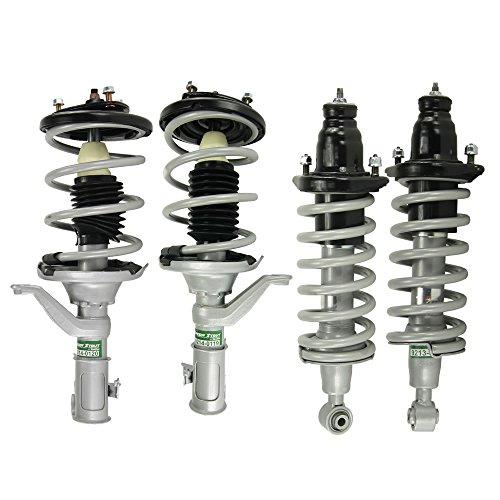 2004 Honda Civic Struts - SENSEN Full Set 4 Pieces Speedy Strut Complete Strut Assembly, Lifetime Warranty