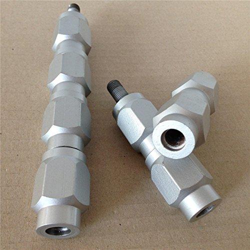 Atv Wheel Spacers Studs Metric 10Mm X 1.25 Thread Honda Kawasaki Suzuki Yamaha