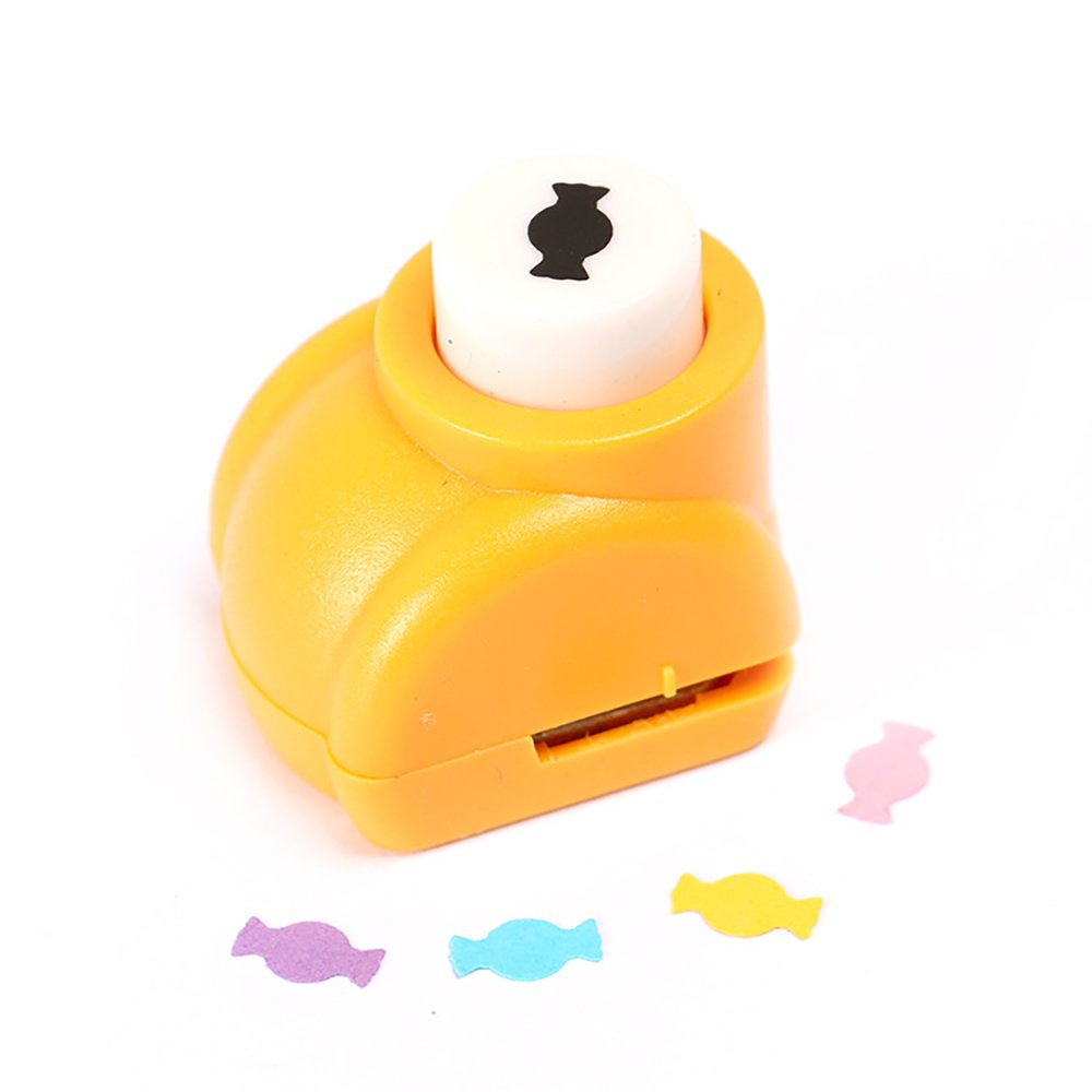 YaptheS Cute Embossing Device Card Making Scrapbooking Craft Punch Paper Shaper Hole Punch (Candy)