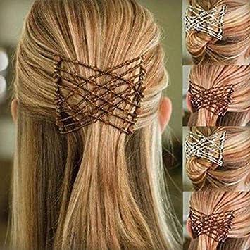 7.5cm Silver Side Hair Combs Slides Clips Hair Accessories