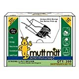 Mutt Mitt Dog Waste Pick Up Bag, 200-Count
