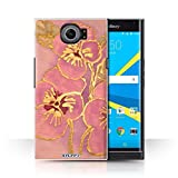 STUFF4 Phone Case / Cover for BlackBerry Priv / Baby Pink Design / Floral Silk Effect Collection