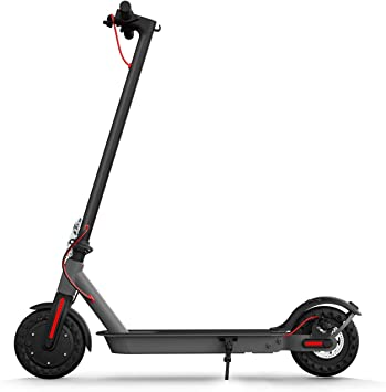 "Hiboy S2 Electric Scooter - 8.5"" Solid Tires - Up to 17 Miles Long-Range & 18 MPH Portable Folding Commuting Scooter for Adults with Double Braking System and App best scooters for women"
