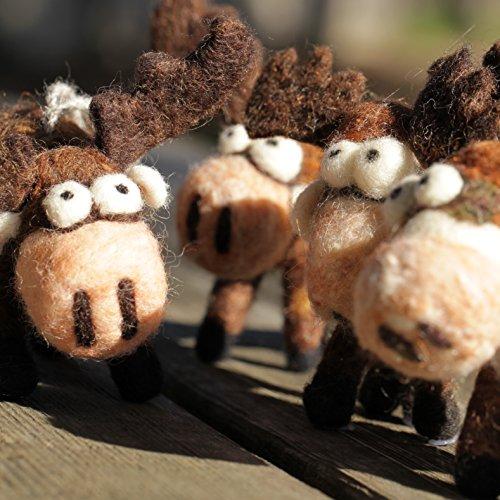 Woolbuddy Needle Felting Moose Kit by Woolbuddy (Image #4)