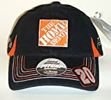 Homes Depot Best Deals - NASCAR #20 Tony Stewart Home Depot Black Velcro Pit Cap