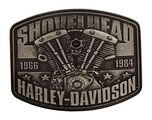 Harley-Davidson Men's Shovelhead Engine Antique Nickel for sale  Delivered anywhere in USA