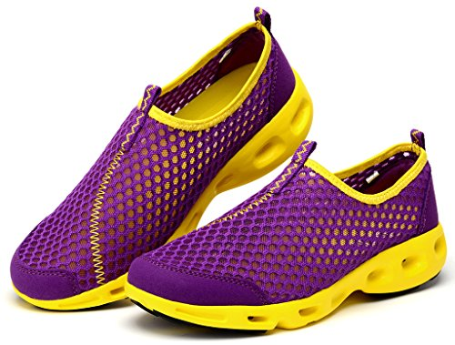 Liscivolo Da Donna Lisyline Slip On A Rapida Asciugatura Aqua Water Shoes Viola