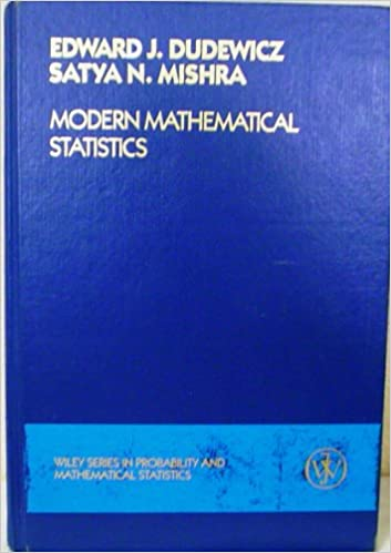 Amazon modern mathematical statistics wiley series in modern mathematical statistics wiley series in probability and statistics 1st edition fandeluxe Image collections