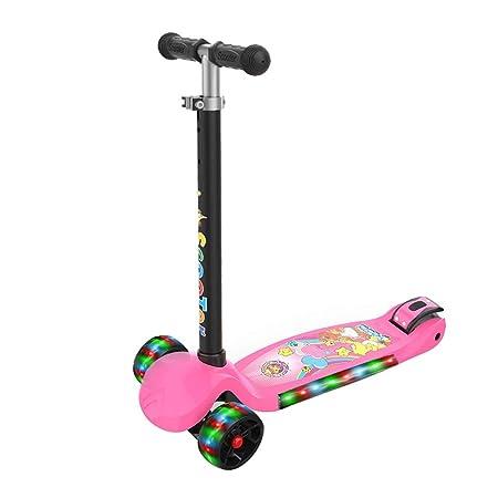 Patinetes para niños Scooter 3-6-12 años de Edad Música de ...