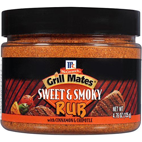 Grill Steak Elk - McCormick Grill Mates Sweet & Smoky Rub, 4.76 oz (Pack of 6)