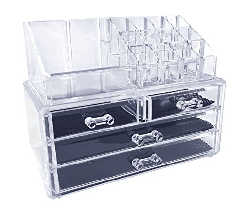 Marvel O Bug 2 Piece Makeup Cosmetic Organizer Storage Drawers