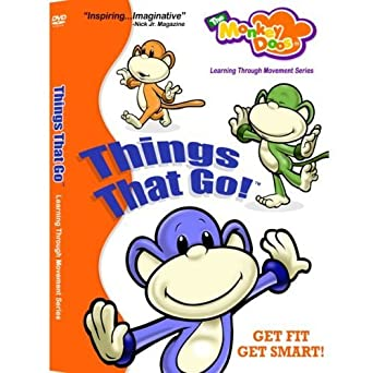 Why Young Kids Learn Through Movement >> Amazon Com Things That Go Monkeydoos Movies Tv