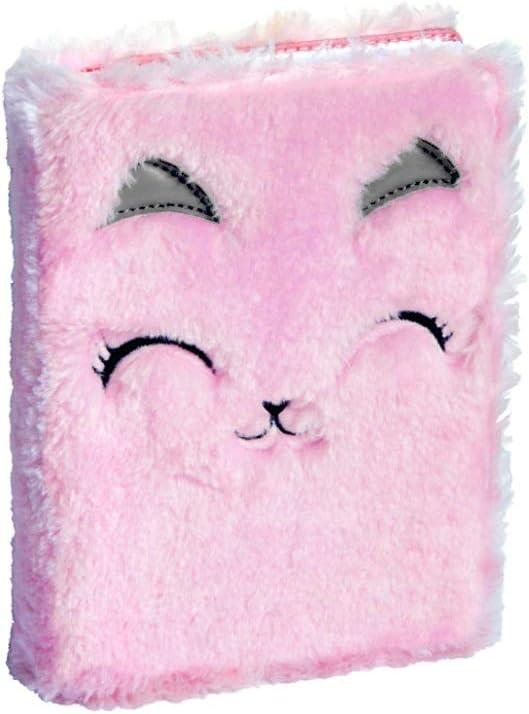 Agenda 2019-2020 Doudou – multilingüe – 17 x 12 cm – Peluche de gato rosa: Amazon.es: Oficina y papelería