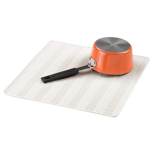 mDesign Alfombrilla antideslizante de silicona - Práctico tapete ...