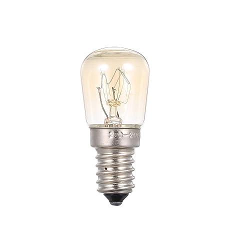 Lilideni AC110-120V 25 W Bombilla incandescente de tungsteno E14 ...
