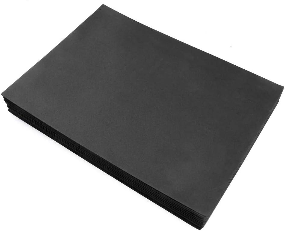 schwarz DIN A3 Schaumstoff f/ür Bastelarbeiten ewtshop/® 20 Blatt Moosgummi