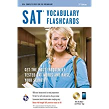 SAT® Vocabulary Flashcard Book Premium Edition w/CD (SAT PSAT ACT (College Admission) Prep)