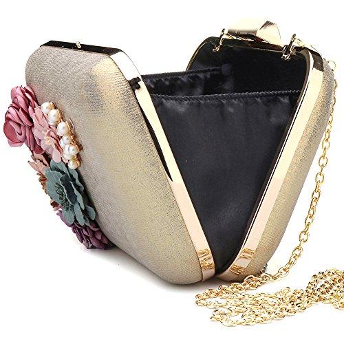 SSMK Evening Bag - Cartera de mano para mujer negro